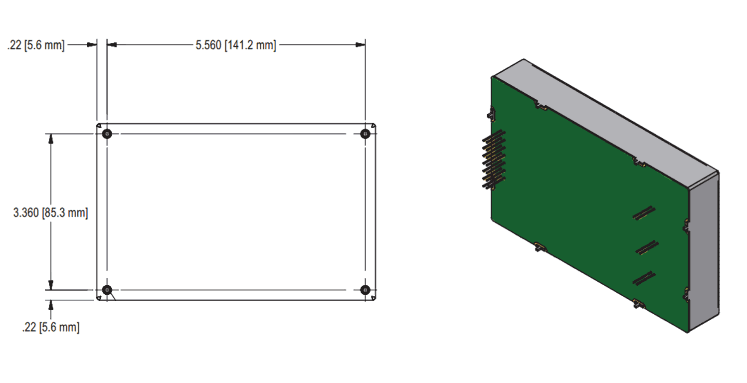 Schematic of FLHV series power supply
