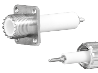 Single pin HV connectors now prefabricated with 30kV cable assembly