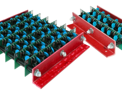 High voltage full wave bridge rectifiers
