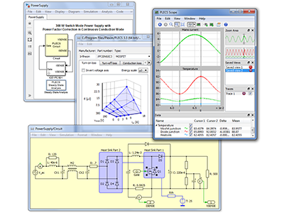 PLECS 3.7 now supports thermal modelling and processor-in-the-loop (PIL)