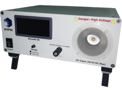 Low cost, high accuracy digital high voltage meter available