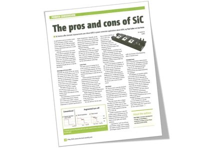 PPM Power in Electronics Weekly: The pros and cons of SiC
