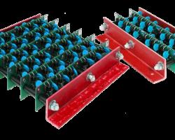 High voltage full wave bridge rectifiers