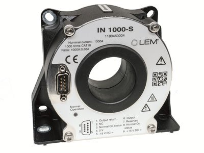 LEM introduce 1000A fluxgate current transducer