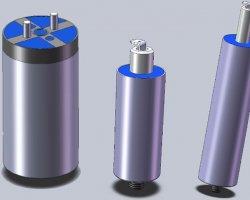 Leclanche Dry Film Capacitor