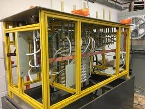 Oil tank HV assembly