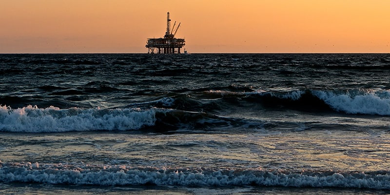 Subsea oil rig