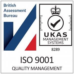 UKAS ISO-9001 logo